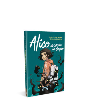 Alice di sogno in sogno – mockup sito