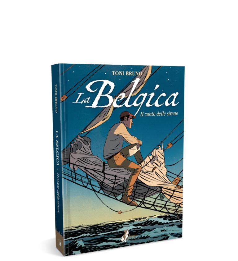 La belgica – il canto delle sirene – mockup sito