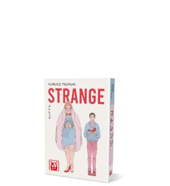 Strange – mockup sito