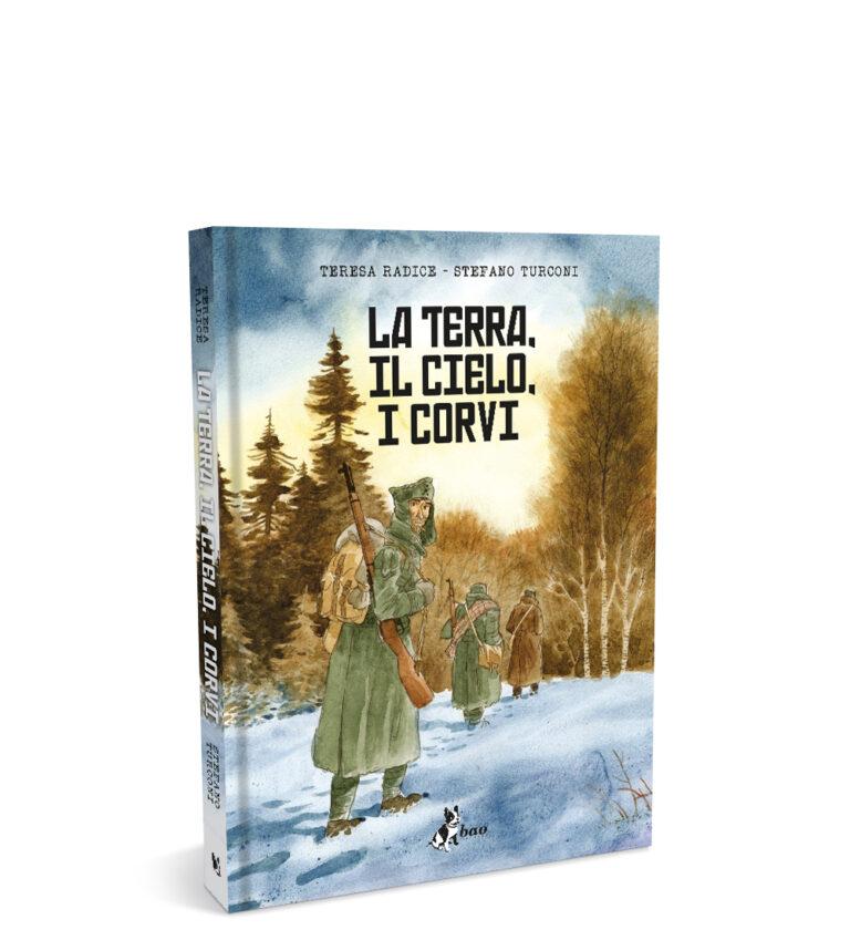 mockup LA TERRA, IL CIELO, I CORVI